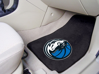 "NBA - Dallas Mavericks 2-pc Carpeted Car Mats 17""x27"""