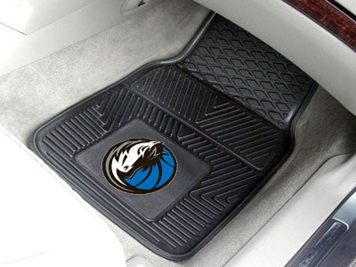 "NBA - Dallas Mavericks 2-pc Vinyl Car Mats 17""x27"""