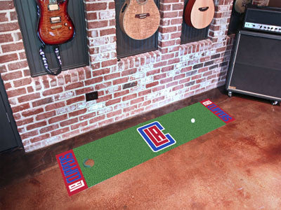 "NBA - Los Angeles Clippers Putting Green Runner 18""x72"""