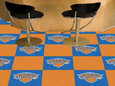 "NBA - New York Knicks Carpet Tiles 18""x18"" tiles"