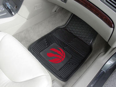 "NBA - Toronto Raptors 2-pc Vinyl Car Mats 17""x27"""