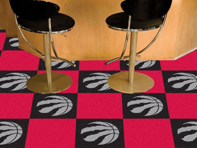 "NBA - Toronto Raptors Carpet Tiles 18""x18"" tiles"