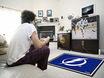 NHL - Tampa Bay Lightning 4'x6' Rug