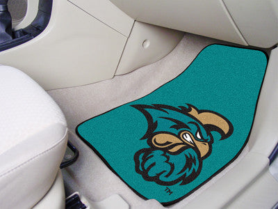 "Coastal Carolina 2-pc Carpeted Car Mats 17""x27"""