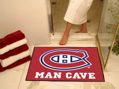 "NHL - Montreal Canadiens Man Cave All-Star Mat 33.75""x42.5"""