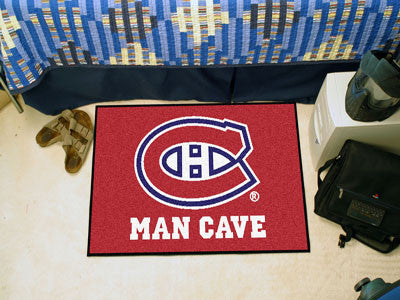 "NHL - Montreal Canadiens Man Cave Starter Rug 19""x30"""