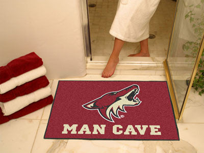 "NHL - Arizona Coyotes Man Cave All-Star Mat 33.75""x42.5"""