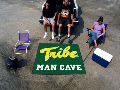 William & Mary Man Cave Tailgater Rug 5'x6'