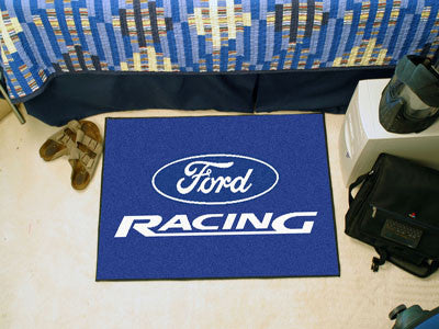 "Ford Racing Starter Rug 19""x30"" - Blue"