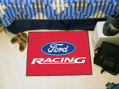 "Ford Racing Starter Rug 19""x30"" - Red"