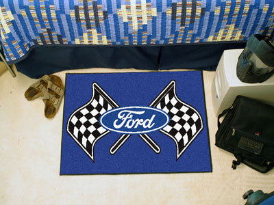 "Ford Flags Starter Rug 19""x30"" - Blue"