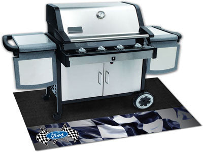 "Ford Flags Grill Mat 26""x42"""