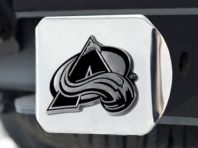 "NHL - Colorado Avalanche Hitch Cover 4 1/2""x3 3/8"""