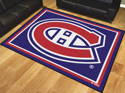 NHL - Montreal Canadiens 8'x10' Rug