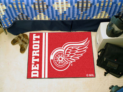 "Detroit Red Wings Uniform Starter Rug 19""x30"""