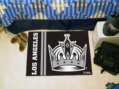 "Los Angeles Kings Uniform Starter Rug 19""x30"""