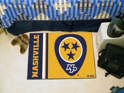 "Nashville Predators Uniform Starter Rug 19""x30"""