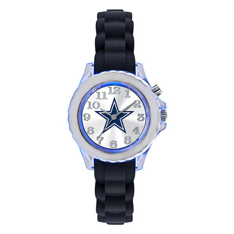 Dallas Cowboys Kids Flash Watch – Black