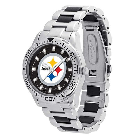 Pittsburgh Steelers Heavy Hitter Men's Watch