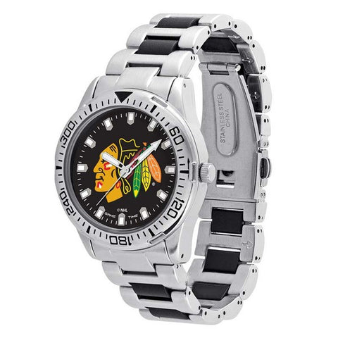 CHICAGO BLACKHAWKS Heavy Hitter Men's Watch