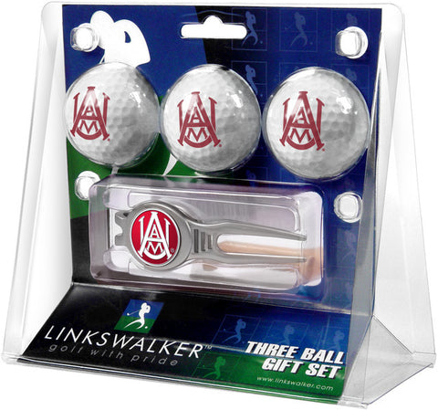 Alabama A&M Bulldogs-Kool Tool 3 Ball Gift Pack
