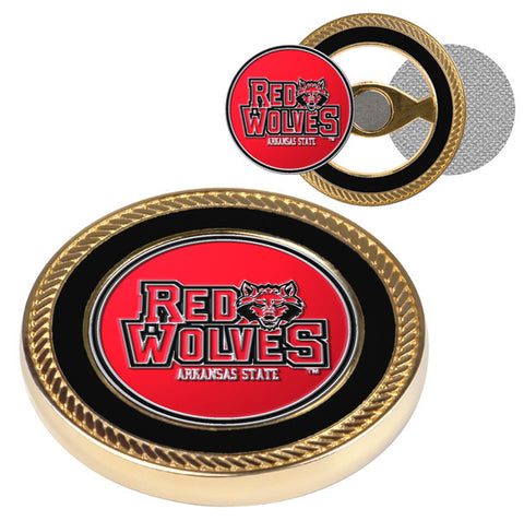 Arkansas State Red Wolves-Challenge Coin / 2 Ball Markers