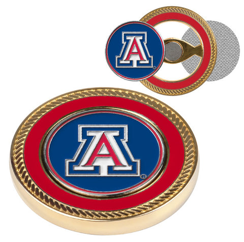 Arizona Wildcats-Challenge Coin / 2 Ball Markers