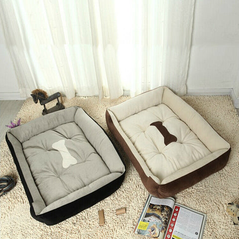 Dog Bed Kennel Mat Soft Pet