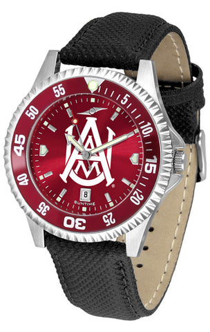 Alabama A&M Bulldogs Men Competitor Watch With AnoChome Dial, Color Bezel