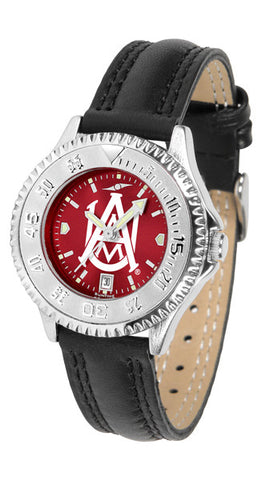 Alabama A&M Bulldogs Ladies Competitor Watch With AnoChome Dial