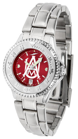Alabama A&M Bulldogs Ladies Competitor Steel Watch With AnoChome Dial