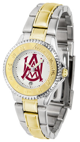 Alabama A&M Bulldogs Ladies Competitor Two-Tone Watch