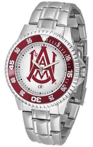 Alabama A&M Bulldogs Competitor Steel Men's Watch