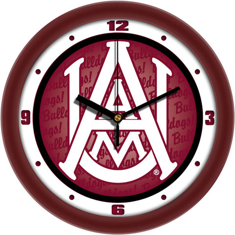 Mens Alabama A&M Bulldogs - Dimension Wall Clock