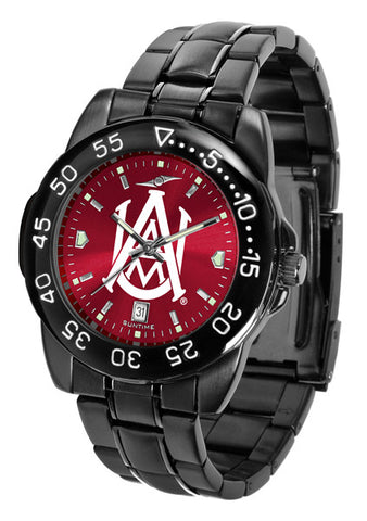 Alabama A&M Bulldogs Fantom Sport Men Watch With Orange AnoChrome Dial