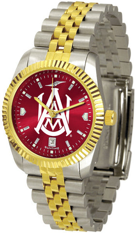 Alabama A&M Bulldogs Men's Executive Watch With AnoChrome Dial