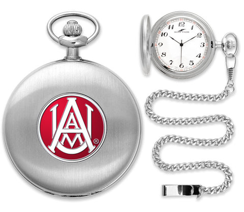 Mens Alabama A&M Bulldogs - Pocket Watch - Silver