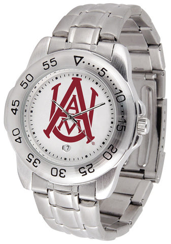Alabama A&M Bulldogs Men Sport Steel Watch