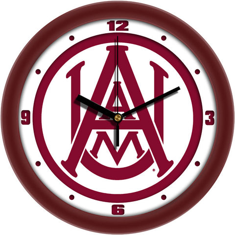 Mens Alabama A&M Bulldogs - Traditional Wall Clock