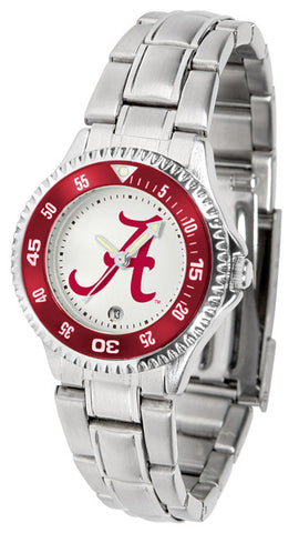 Alabama Crimson Tide Competitor Steel Ladies Watch