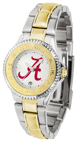 Alabama Crimson Tide Ladies Competitor Two-Tone Watch