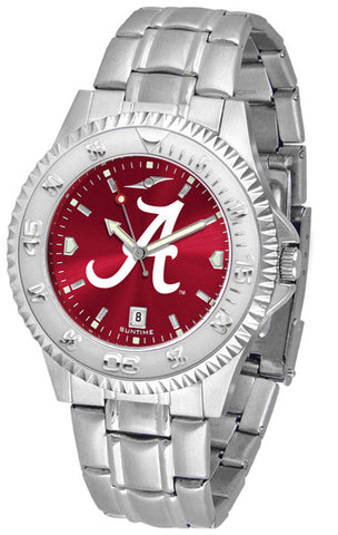 Alabama Crimson Tide Men Competitor Steel Watch With AnoChome Dial
