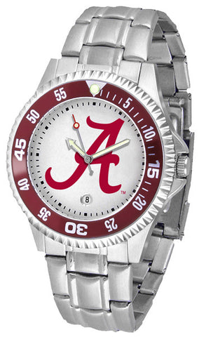 Alabama Crimson Tide Competitor Steel Men Watch