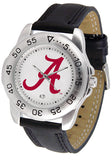 Alabama Crimson Tide Men Or Ladies Sport Watch With Leather Band