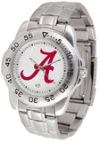 Alabama Crimson Tide Men Or Ladies Sport Steel Watch