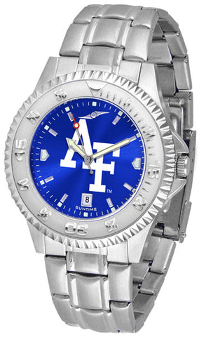 Air Force Falcons Men's Competitor Steel Watch With AnoChome Dial