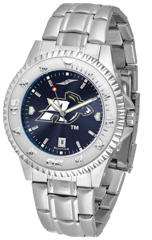 Akron Zips Men's Competitor Steel Watch With AnoChome Dial