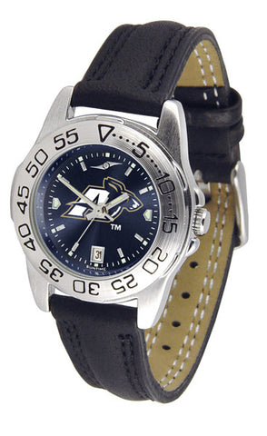 Akron Zips Sport Watch With Leather Band & AnoChrome Dial