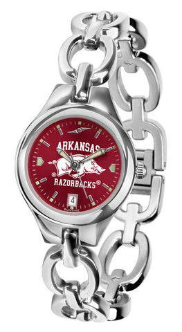 Arkansas Razorbacks Ladies Eclipse Watch With AnoChrome Dial