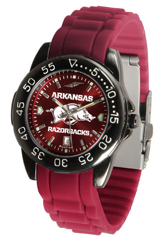 Arkansas Razorbacks Fantom Sport AC Watch With Color Band